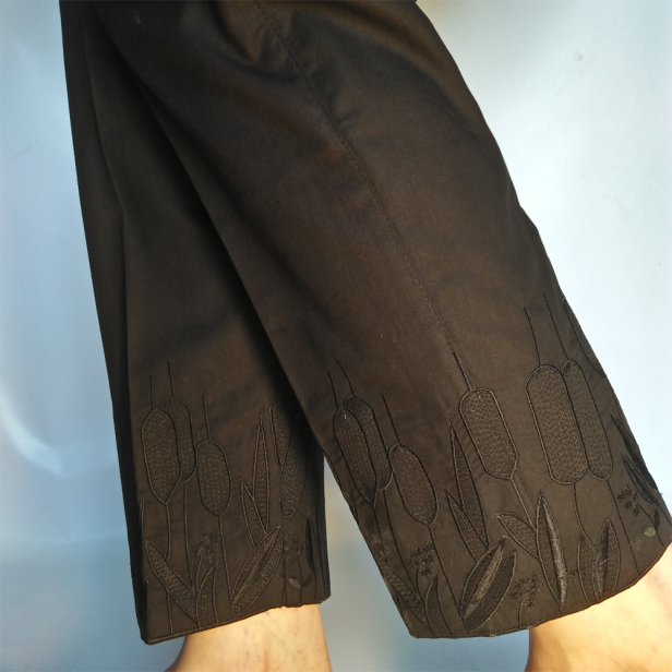 Pant-Straight-For-Women-Embroided